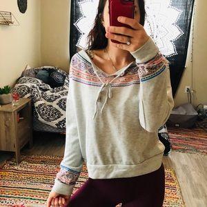 Forever 21 boho sweater